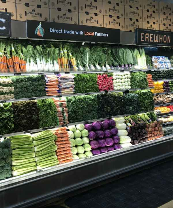 organic produce at Erewhon Market